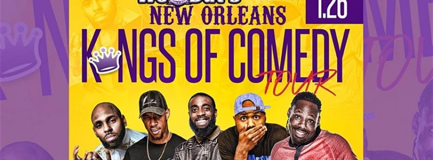 New Orleans Kings of Comedy DALLAS EDITION