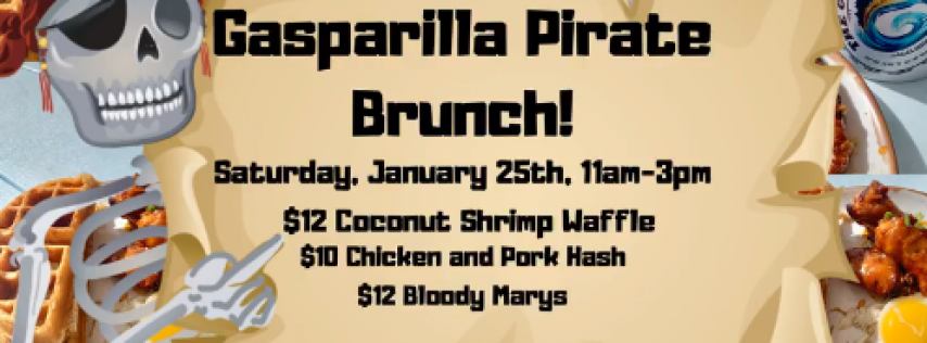 Gasparilla Pirate Brunch!