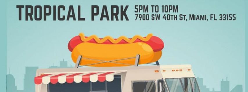 Food Trucks Fridays Fiesta Tropical Park