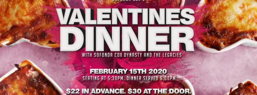 Sofonda Cox's Valentines Dinner Show