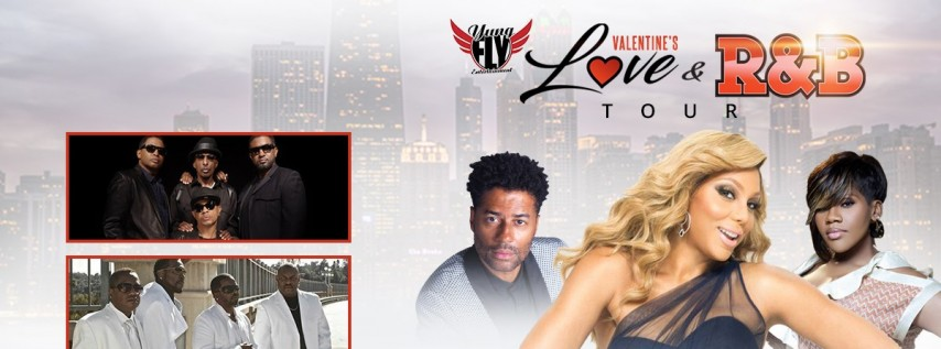 Valentine's Day Love and R&B Tour