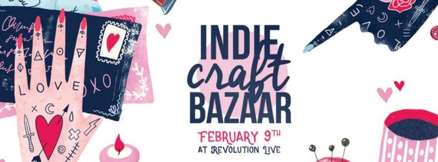 Indie Craft Bazaar: Handmade Festival & Valentine's Market!