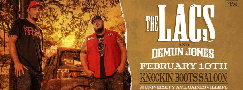 The LACS w/ DEMUN JONES- Gainesville
