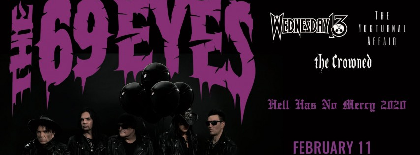 The 69 Eyes w/ Wednesday 13