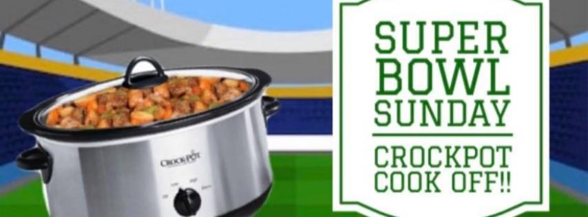 Super Bowl Sunday Crockpot Cookoff!