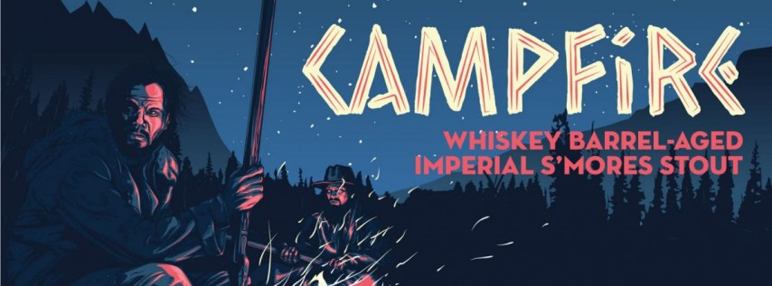 Campfire 11.6% - Whiskey Barrel-Aged Imperial S'mores Stout