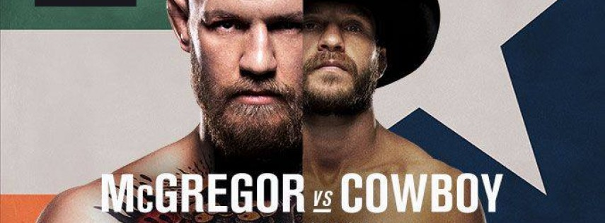 UFC 246 : McGregor vs Cowboy