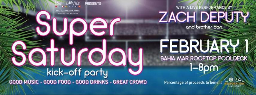 Bahia Mar's Super Saturday Kick-Off Party