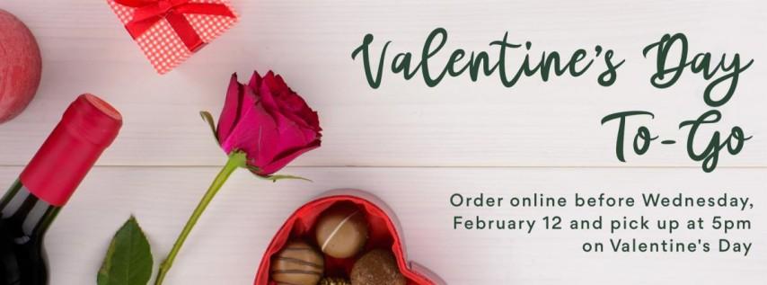 Valentine's Day To-Go