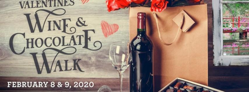 Valentine's Wine & Chocolate Walk