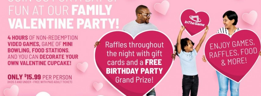 In The Game Family Valentine Party!