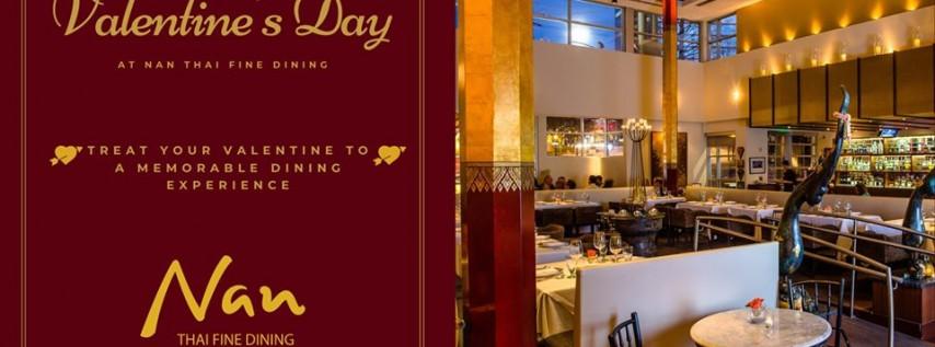 Valentine's Day at Nan Thai Fine Dining
