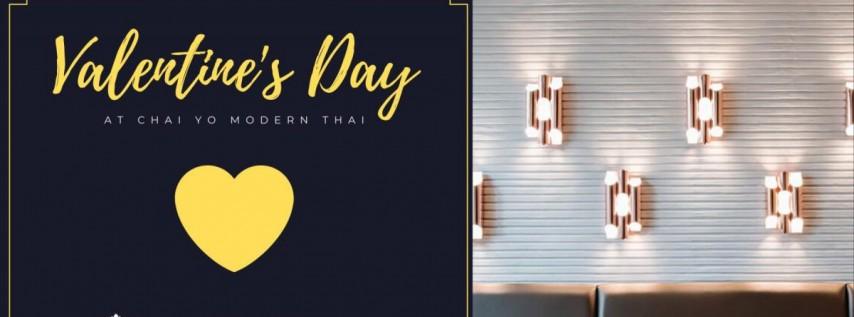 Valentine's Day at Chai Yo Modern Thai