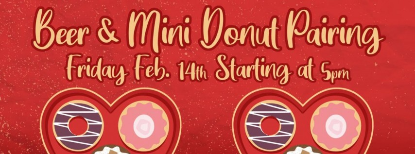Valentine's Beer & Donut Pairing at Swamp Head Brewery