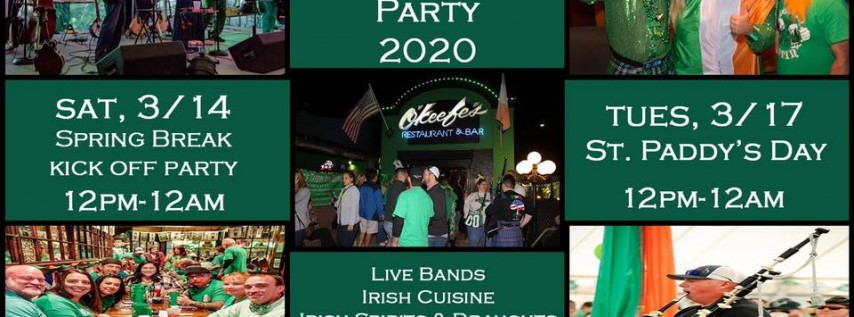 St Patrick's Festival Kick Off Party at OKeefes