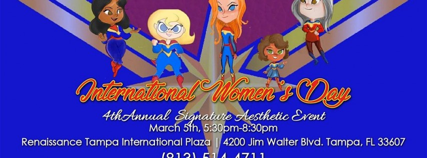 4th Annual International Women's Day Event