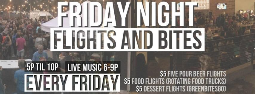 Friday Night Flights and Bites