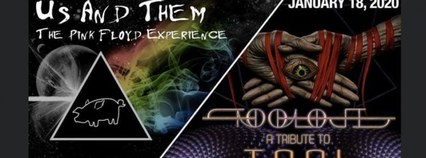 Tooloji with Us And Them (Pink Floyd Tribute) at Warehouse Live