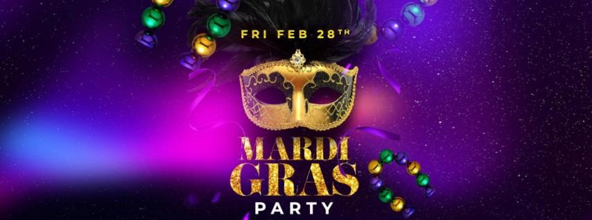 Mardi Gras Party at Paradox