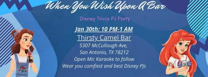 When You Wish Upon A Bar : Disney Trivia!