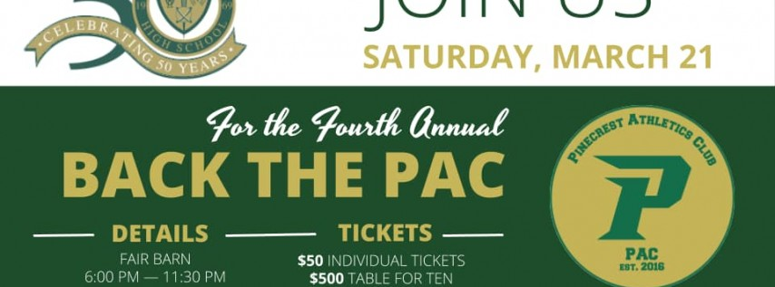 4th Annual Back the PAC