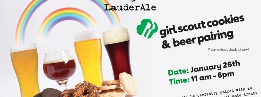 Girl Scout Cookie and Beer Pairing!
