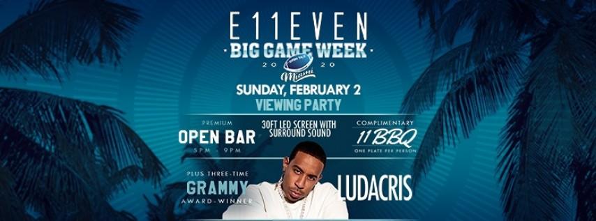 Big Game Viewing Party: Ludacris