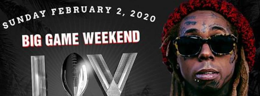 LIV ON SUNDAY Lil Wayne Big Game Weekend