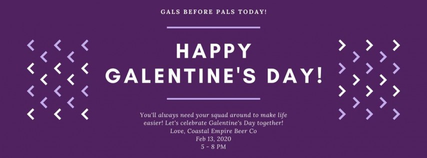 Galentine's Girls Pint Out