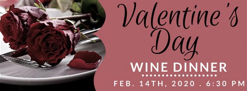 Valentine's Day Wine Dinner 2020