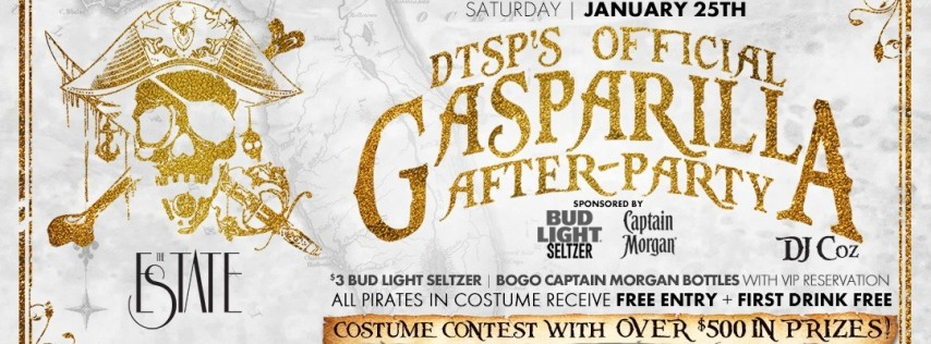 Gasparilla After Party at Estate