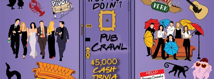 San Antonio - 'How You Doin?' Trivia Pub Crawl