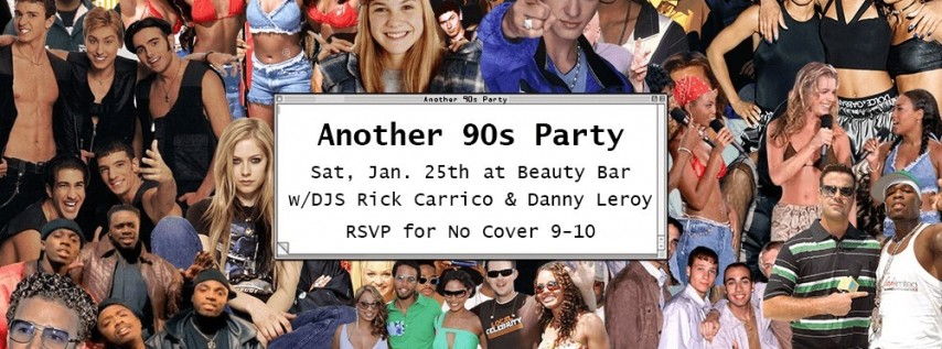 Another 90s Party!