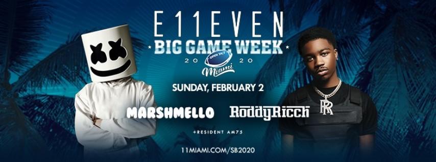 Big Game Week: Marshmello & Roddy Ricch