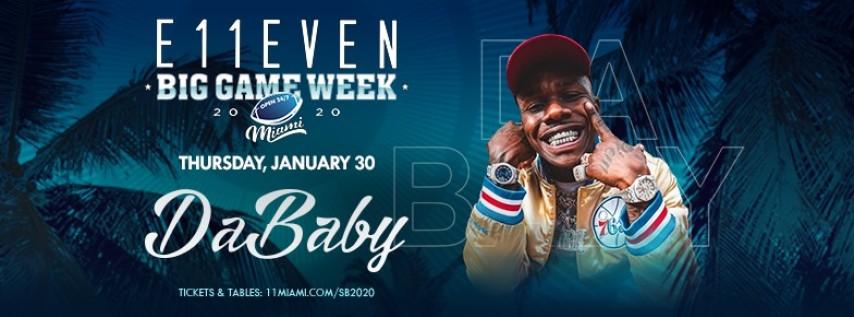 Big Game Week: Da Baby