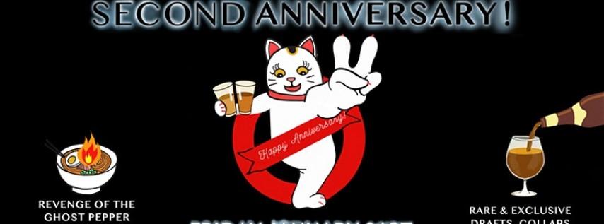 Milk & Hops Ramen Bar 2nd Anniversary