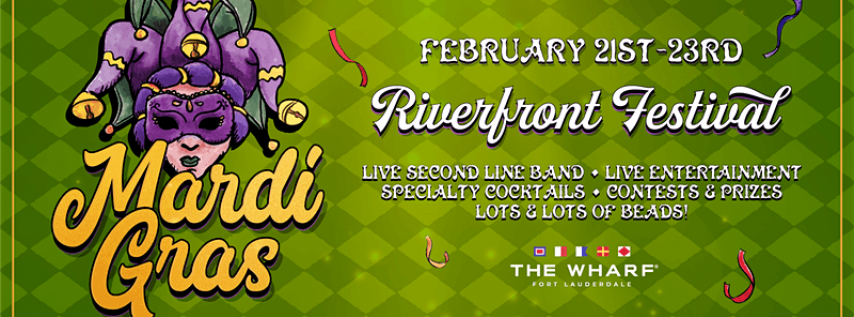MARDI GRAS Riverfront Festival