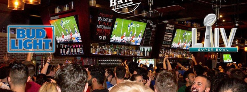 Super Bowl LIV at Batch Miami: Official Bud Light NFC Watch Party