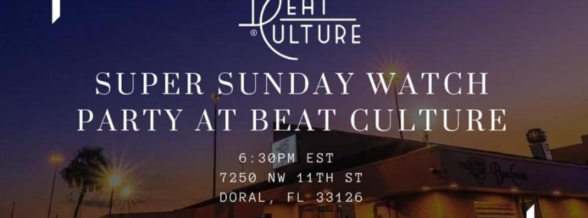 Super Sunday at Beat Culture