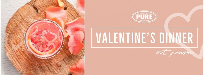 Valentine's Day Dinner at Pure Inman Park