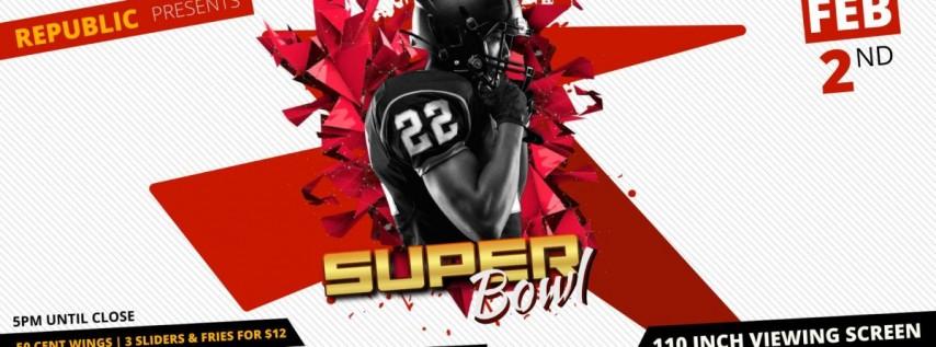 Republic's Super Bowl Party
