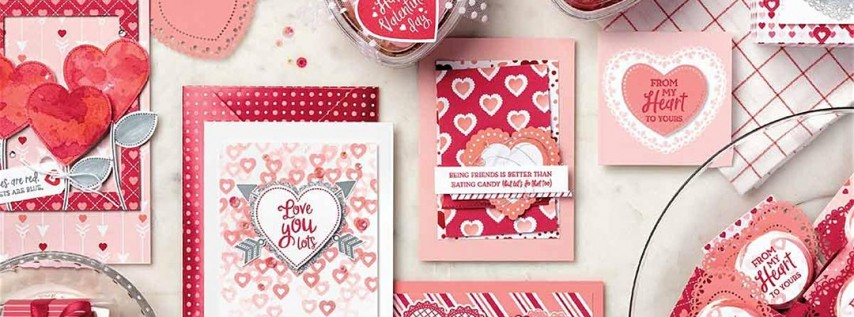 Valentine's Simply Cards Class