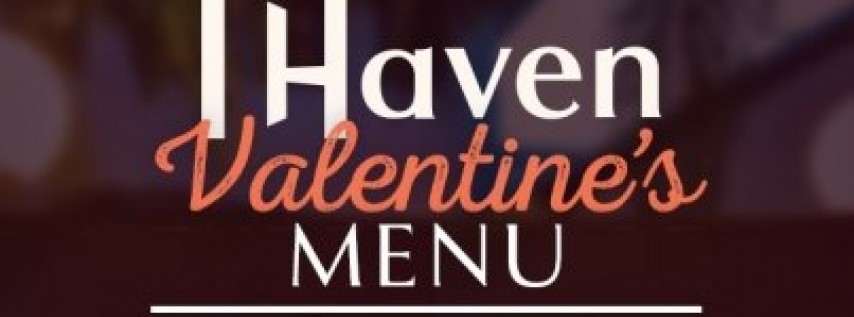 Valentine's Day Tasting Menu