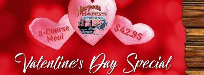 Valentine's Dinner at Harpoon Harry's Crab House