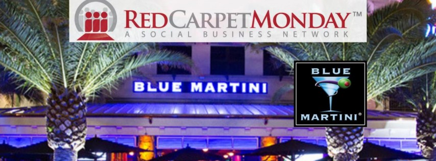 RedCarpetMonday Orlando Networking Event at Blue Martini