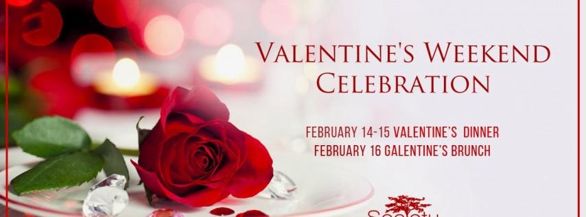 Valentine's Weekend Celebration - Dinner & Brunch