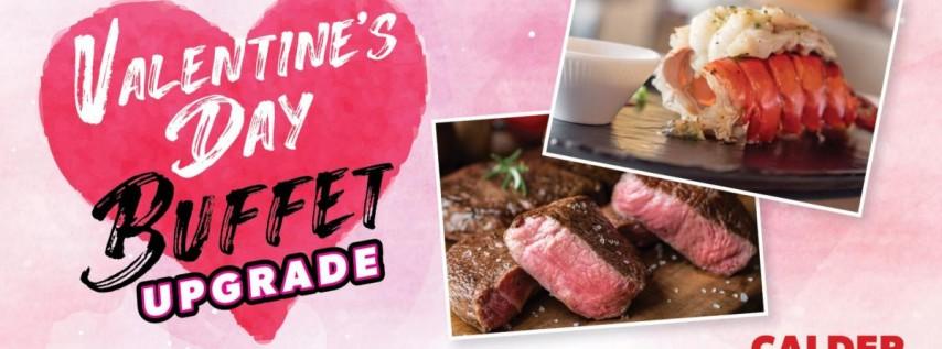 Valentine's Day Buffet Upgrade