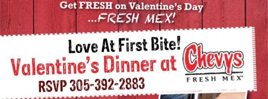 Valentine's Day at Chevys Miami