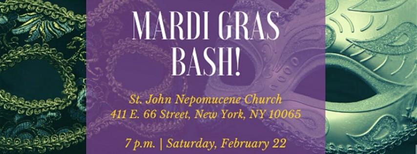 Mardi Gras Bash!