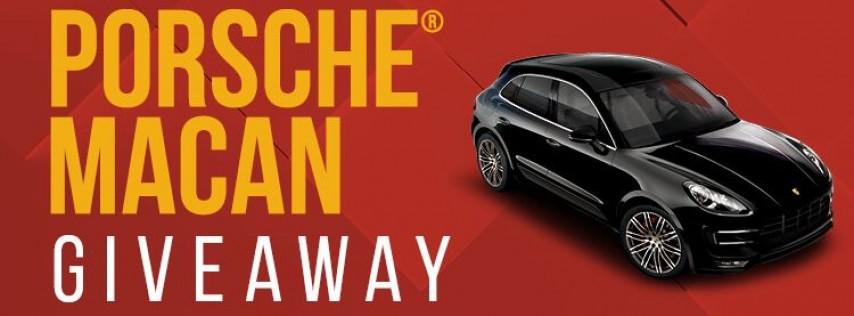 Porsche Macan Giveaway